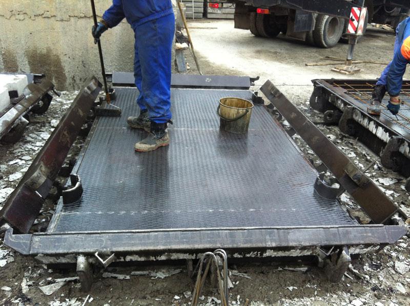 Изготовление железобетонных плит своими руками