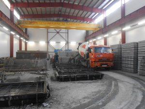 Дорожные плиты - производство